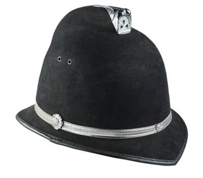 Polícia policajt PRILBA anglický Strážnik helme