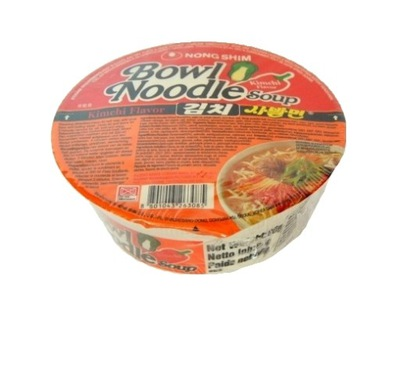 Корейская суп в Миске Кимчи 86g Nong Shim