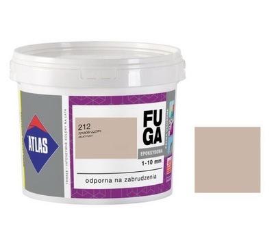 ATLAS EPOXIDOVÁ škárovacia HMOTA, 5 kg - 212 SZAROBRĄZOWY - HIT