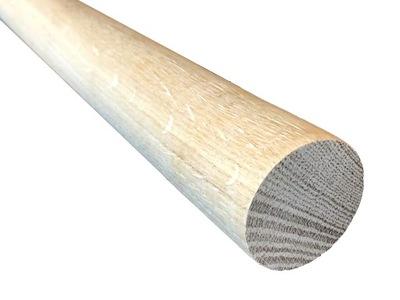 DUBOVÉHO dreva VYTIAHNUŤ SZTYL STICK fi48mm - 220 cm