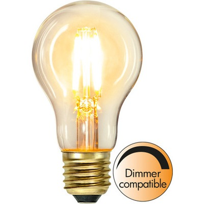 LED Žiarovka E27 A60 Vlákna 4W systém kontroly