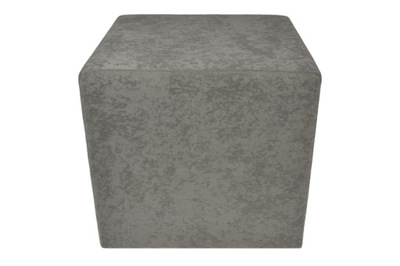 пуф Квадратная 40х40 кубик Цвет ТЕМНЫЙ Серый 36
