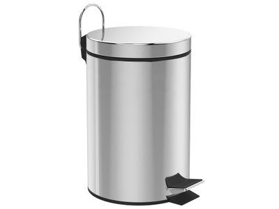 Kosz na śmieci, odpady ze stali nierdzewnej 30L