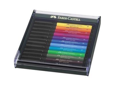 ZNAČKA UMELCOV ŠTETEC PITT PERO Faber-Castell 12 BASIC