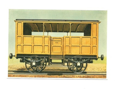 Открытка - Старый вагон круиз / char- -banc