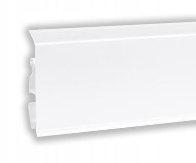 Планка напольного типа белая мат 7 СМ EVO КОРНЕР