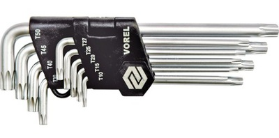 Klucze torx security T10-T50 cr-v kpl. 9 zt. 56478
