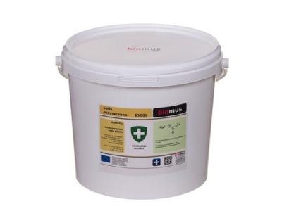 Пищевая СОДА бикарбонат натрия 5кг BIOMUS