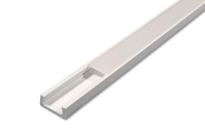 Профиль LED ПВХ для лент 8 10 мм + Абажур 4 цвета 2м