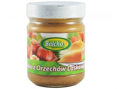 Масло из фундука BALCHO без сахара 100 %