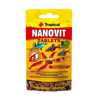 Tropical Нановит Tablets 10g 70tab-табл. samoprzy.