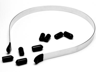 силиконовый наконечник окончание пояс 10шт 3 ,5 мм