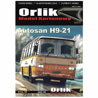 Орлик 106 -  автобус Autosan H9-21 1 :43