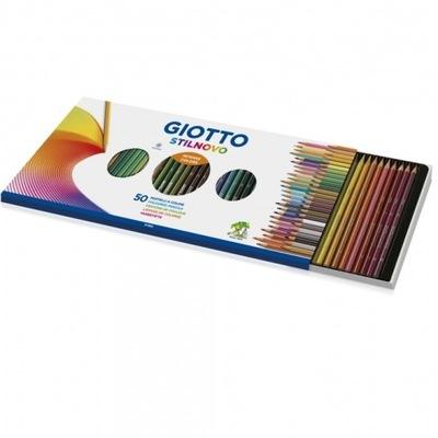 GIOTTO kredki ołówkowe 50 kolorów Fila 257300