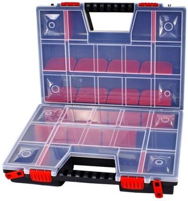 Box na náradie - ORGANIZÁTOR 39, 30 WAYS, 130x290x390mm PROLINE