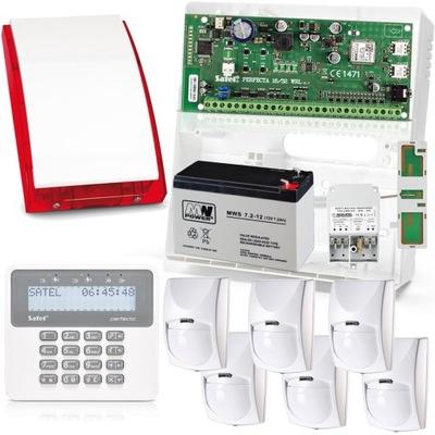 Nastaviť Perfecta 16 LCD SP 4001 6x Bingo GSM Satel