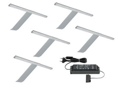 KPL5x Lampa nábytok GAMA nadszafkowa LED+zdroj napájania