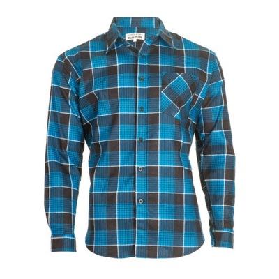 Рубашка фланелевая Хлопок MODAR синяя года.42