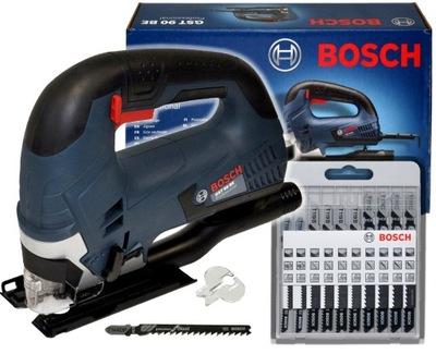 ЭЛЕКТРОЛОБЗИК 650 ВТ GST 90BE Bosch + 11 ПОЛОТНА