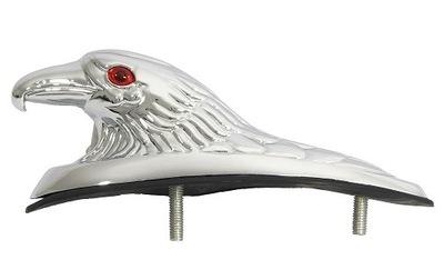 Orzeł na błotnik chromowany motocyklowy aluminium