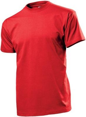 T-shirt męski STEDMAN CLASSIC ST 2000 r. M czerwon
