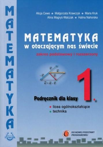 Matematyka w otaczającym nas świecie 1 Podręcznik