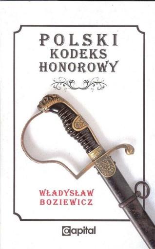 Polski Kodeks Honorowy Boziewicz Władysław