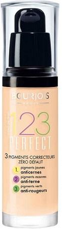 Bourjois 123 Perfect Podkład 50 51 52 53 54 55 56