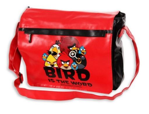 e2a02dfbc6aad ANGRY BIRDS MŁODZIEŻOWA TORBA NA RAMIĘ LISTONOSZKA 5774503881 - Allegro.pl