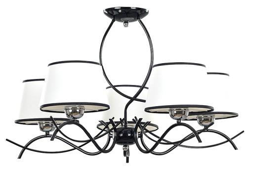 Design Lampa Duży Salon Pokój Led Ramar 5 Emibig 6353593003 Allegropl