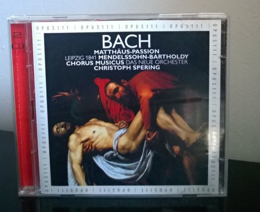 Bach  Matthaus-Passion  Spering 2CD