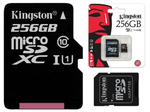 Kingston Karta Pamieci 256gb Micro Sd Class 10 Uhs 6689726341 Sklep Internetowy Agd Rtv Telefony Laptopy Allegro Pl