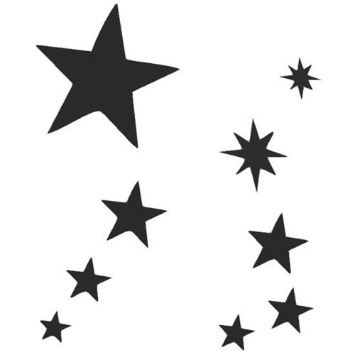 Zestawy Szablonów Tatuaż Gwiazdki Eulenspiegel 7211430908 Allegropl