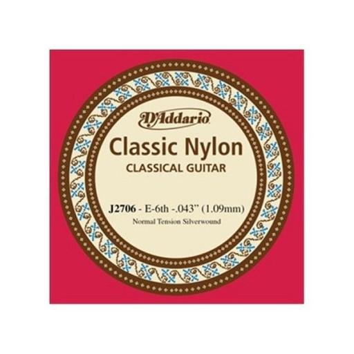 D'addario J2706 struna E6 do gitary klasycznej