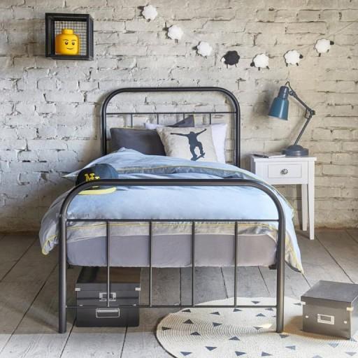łóżko Metalowe Kute Avos 100x200 Producent