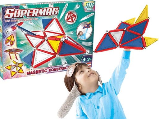Supermag Klocki Magnetyczne Trendy Zestaw 116 El 7598991400 Allegro Pl