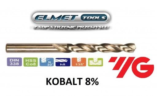 Wiertło FI 13,0 HSSCo8 KOBALT 8% DIN338 YG-1