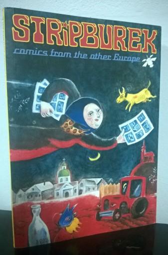 Stripburek  Komiks innej Europy