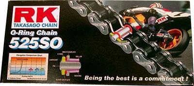 Zestaw napędowy RK O-Ring Suzuki GSX-R 600 01-05r