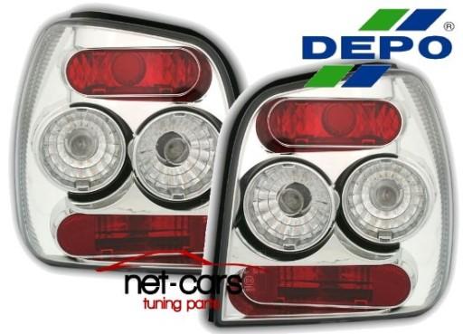 Lampy Tylne Vw Polo 6n 99 Lexus Chrom Clear Depo