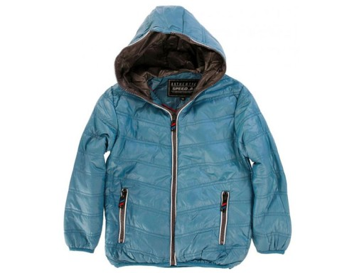 8be9d13604b3d SPEED kurtka pikowana 128 8 l niebieski kolor NOWA 7474916837 ...