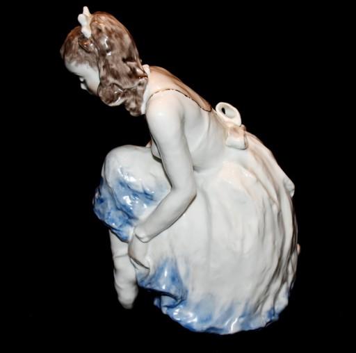 Figura Rosenthal Gronau baletnica2 wys 26cm  st id