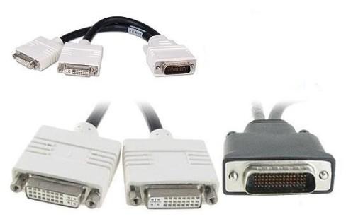 Przejściówka adapter DMS 59 - 2x DVI-I lub VGA FV