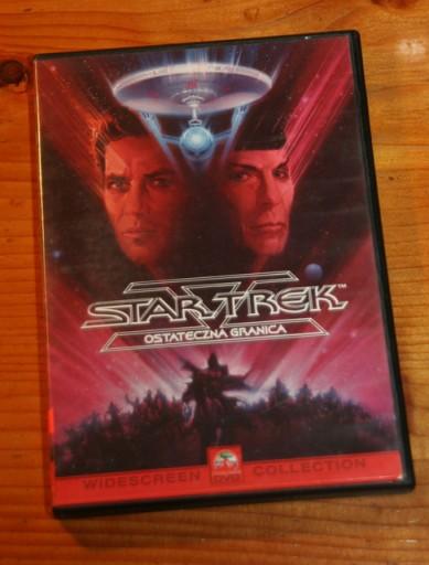 STAR TREK 5 OSTATECZNA GRANICA  DVD