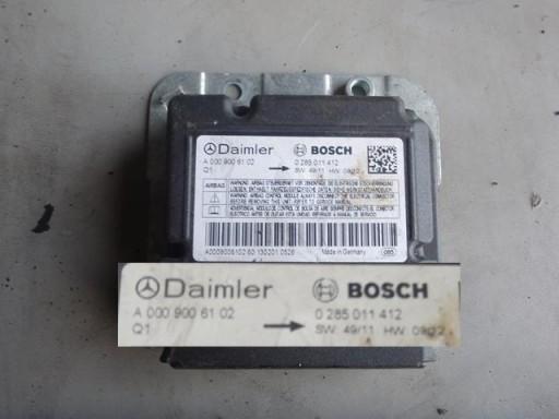 CONTROLLER SENSOR GASKETS CUSHION AIR BAG 0009006102 639