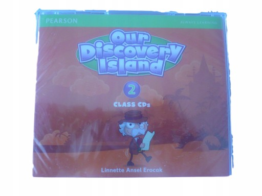 OUR DISCOVERY ISLAND 2 CLASS CDS audio nagrania