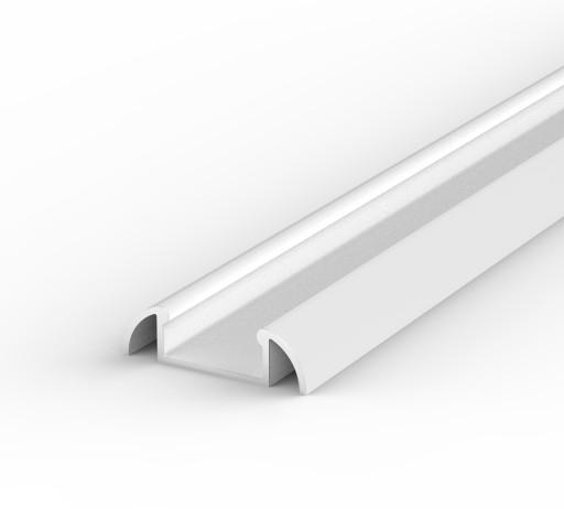 Aluminiowy SURFACE PROFIL LED + KLOSZ 2m | Biały