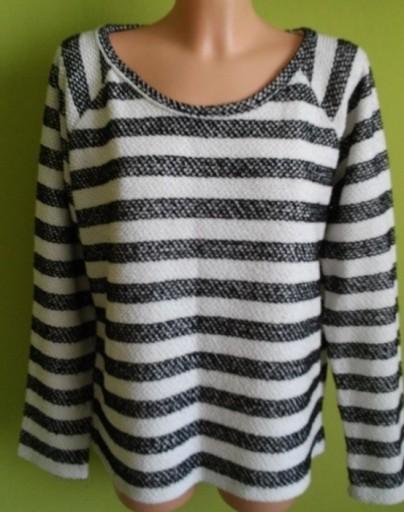 Sweter w paski ATMOSPHERE ( 40 / 42 )