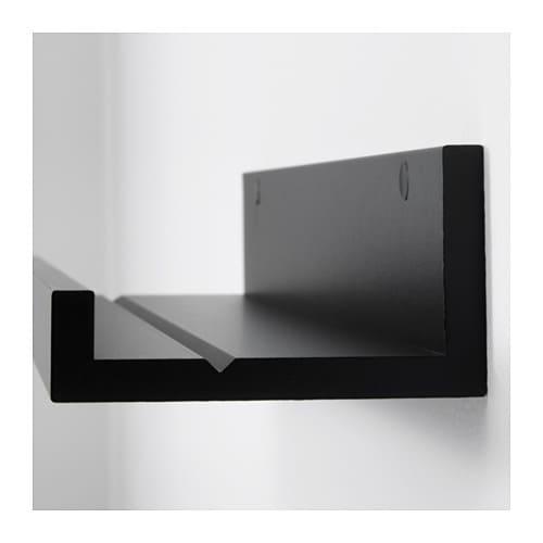 Półka Na Zdjęcia Ramki Ikea Mosslanda 55 Cm Czarna
