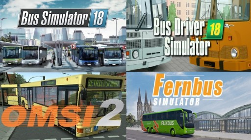 BUS SIMULATOR 18 OMSI 2 BUS DRIVER 2018 FERNBUS